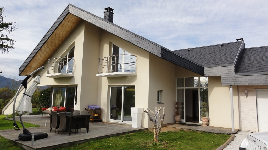 Vendue maison contemporaine au dessus d 39 aix les bains for Acheter maison annecy